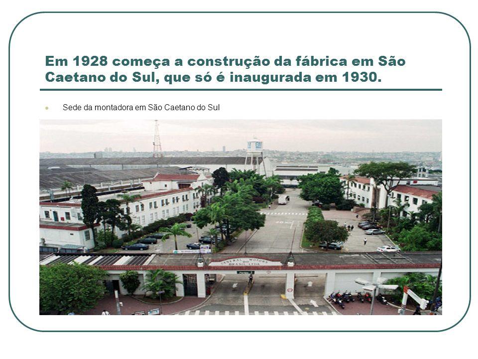 Em 1959 é inaugurada a segunda fábrica da montadora.