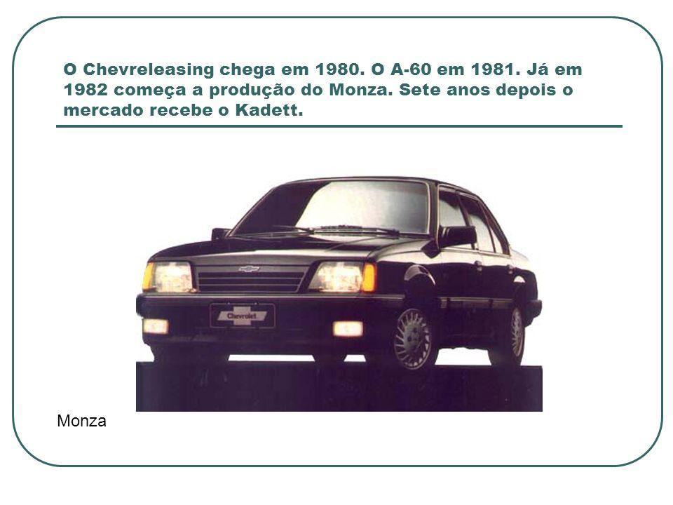 Em 1993 a GM tem mais lançamentos.Station Wagon Suprema, Kadett Ipanema e Vectra são alguns deles.