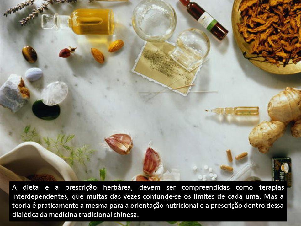 A dieta e a prescrição herbárea, devem ser compreendidas como terapias interdependentes, que muitas das vezes confunde-se os limites de cada uma.