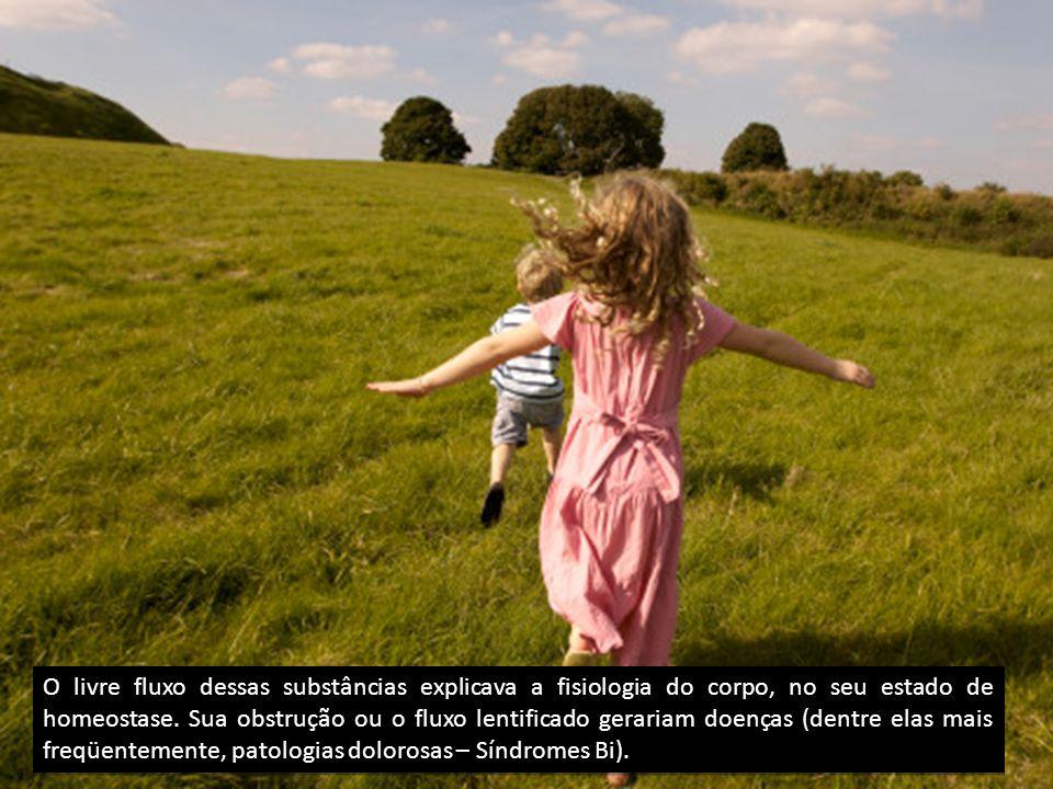 O livre fluxo dessas substâncias explicava a fisiologia do corpo, no seu estado de homeostase.