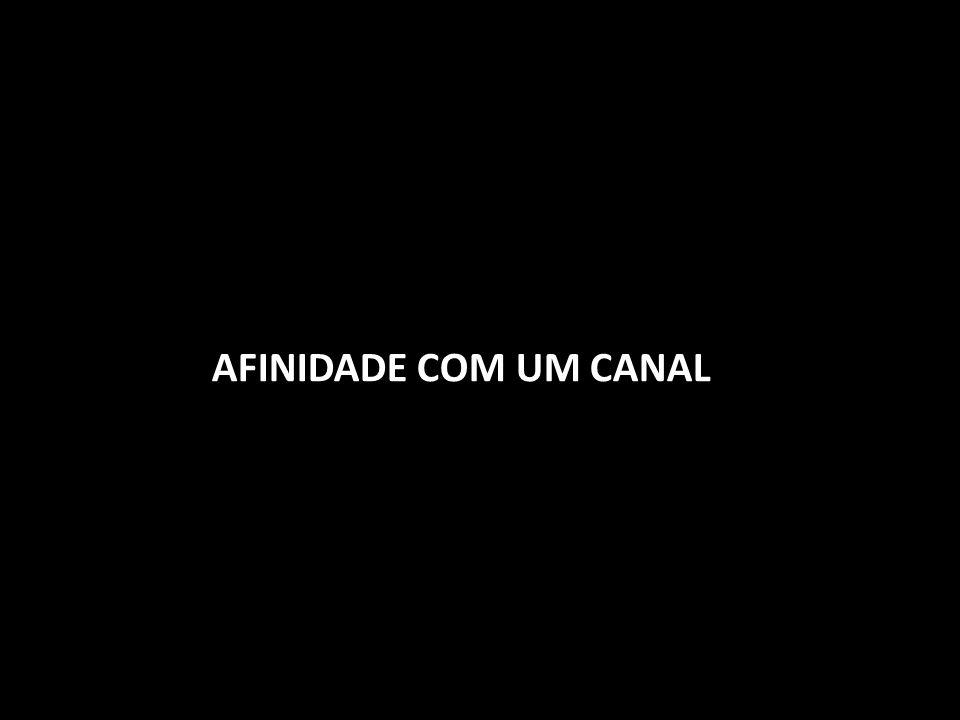 AFINIDADE COM UM CANAL