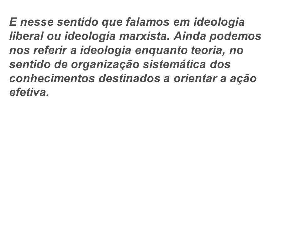 Podemos citar o NAZIFACISMO como um exemplo do poder da Ideologia sobre os indivíduos.
