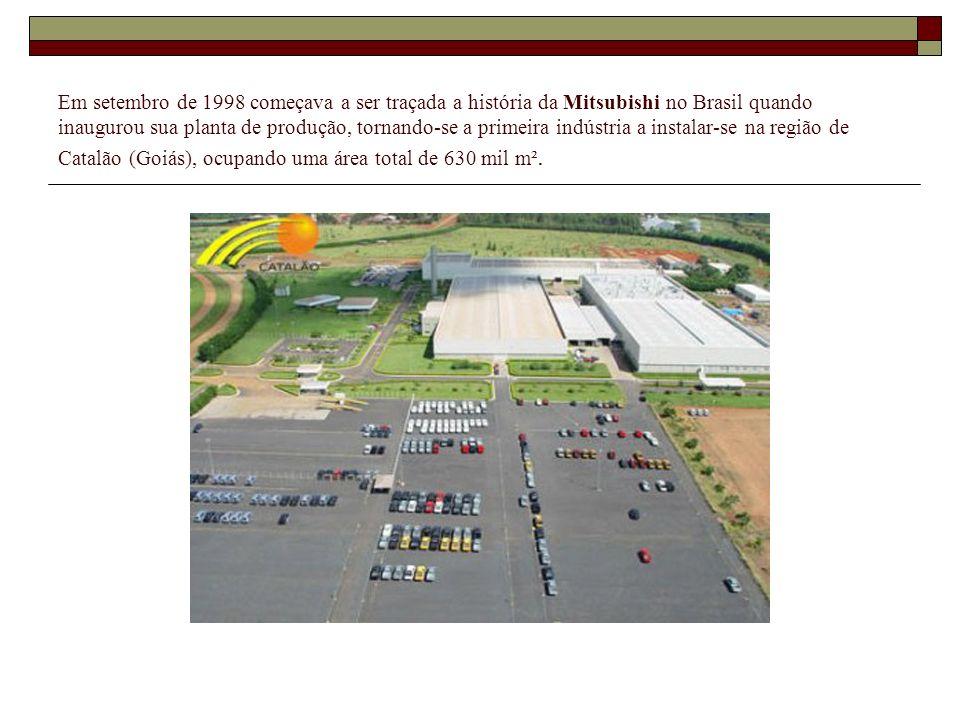 Em setembro de 1998 começava a ser traçada a história da Mitsubishi no Brasil quando inaugurou sua planta de produção, tornando-se a primeira indústri