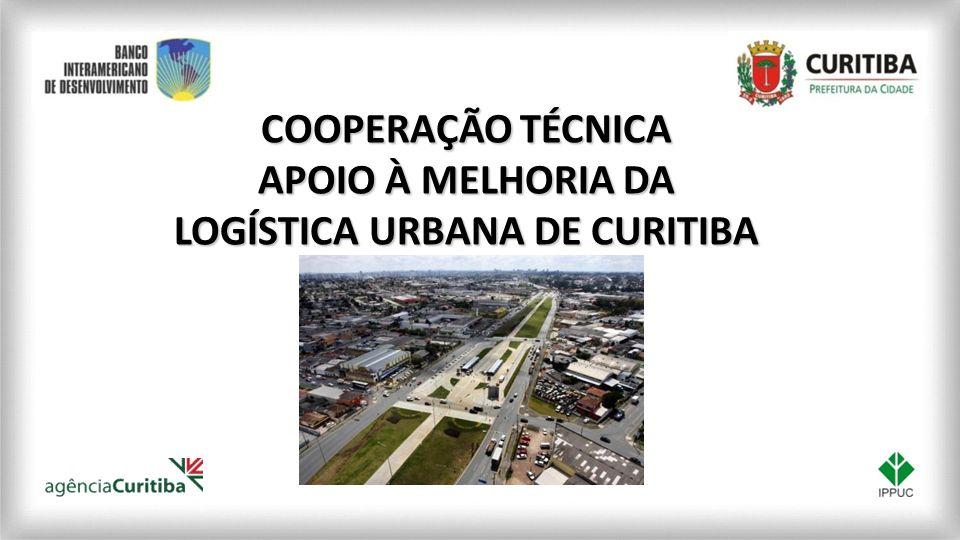 COOPERAÇÃO TÉCNICA APOIO À MELHORIA DA LOGÍSTICA URBANA DE CURITIBA