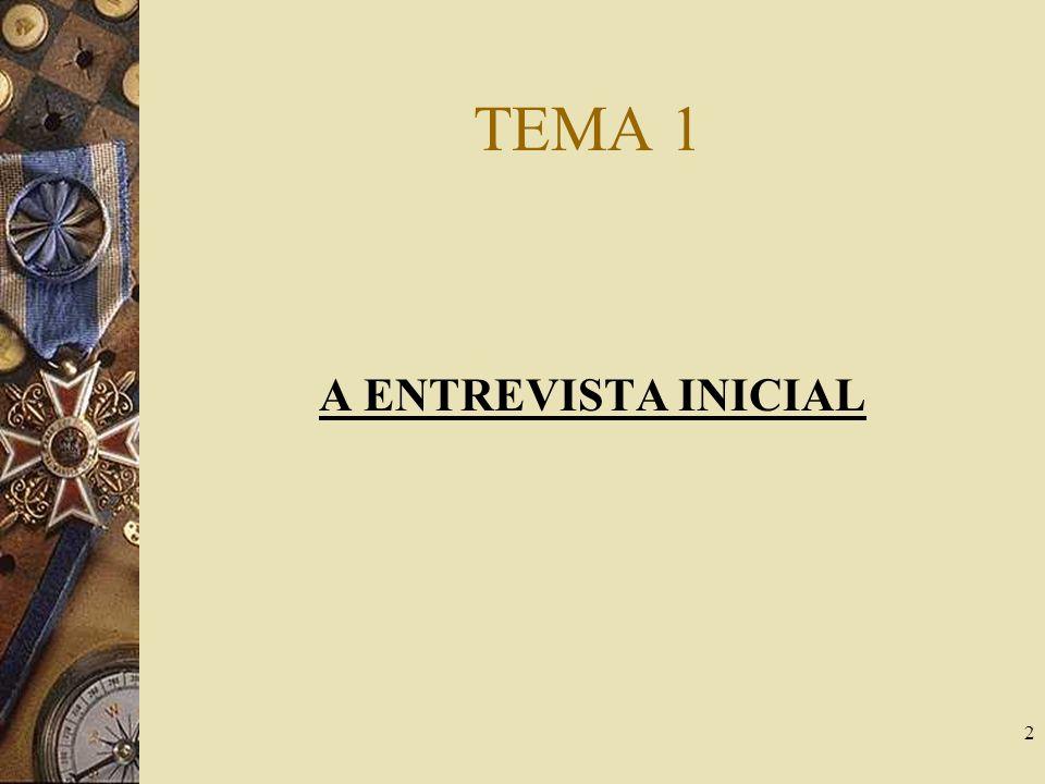 2 TEMA 1 A ENTREVISTA INICIAL