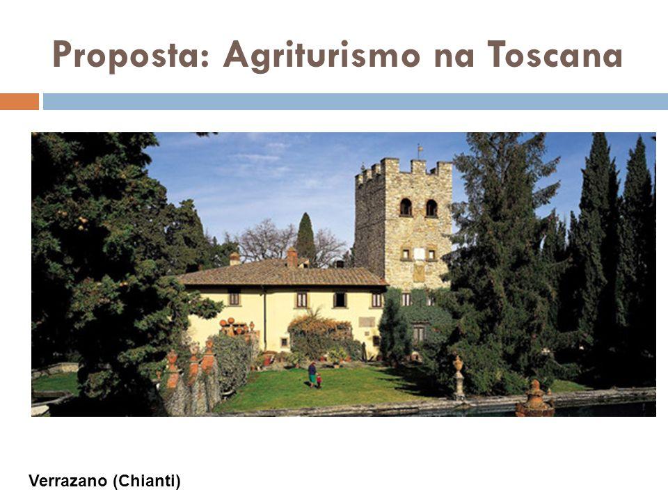 Proposta: Agriturismo na Toscana Verrazano (Chianti)