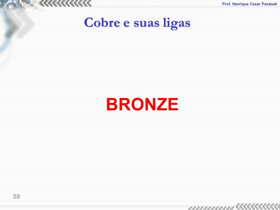 Prof. Henrique Cezar Pavanati Cobre e suas ligas 58 BRONZE