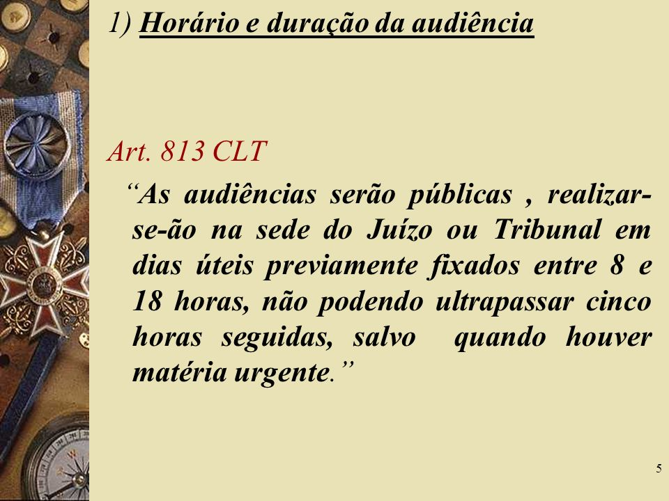 6 2) Do atraso do Juiz Art.