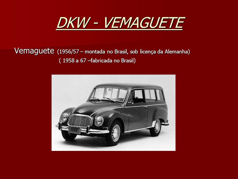 VW / TL TL ( 1969/70 a 75) Obs: TL = Touring luxo