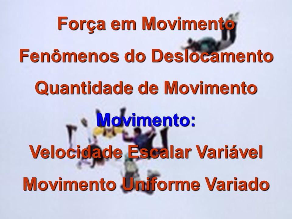 Movimento Retilíneo é o movimento cuja direção é uma linha reta.