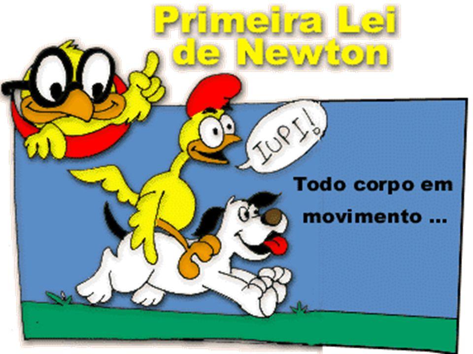 3 a Lei de Newton: a cada ação corresponde uma reação …pela 2 a lei: Patinador a p = 2m/s 2 Van a v = 0.05 m/s 2
