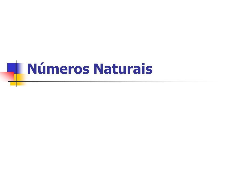 Introdução O conjunto dos números naturais é representado pela letra N maiúsculo, e estes números são feitos com algarismos: 0, 1, 2, 3, 4, 5, 6, 7, 8, 9.