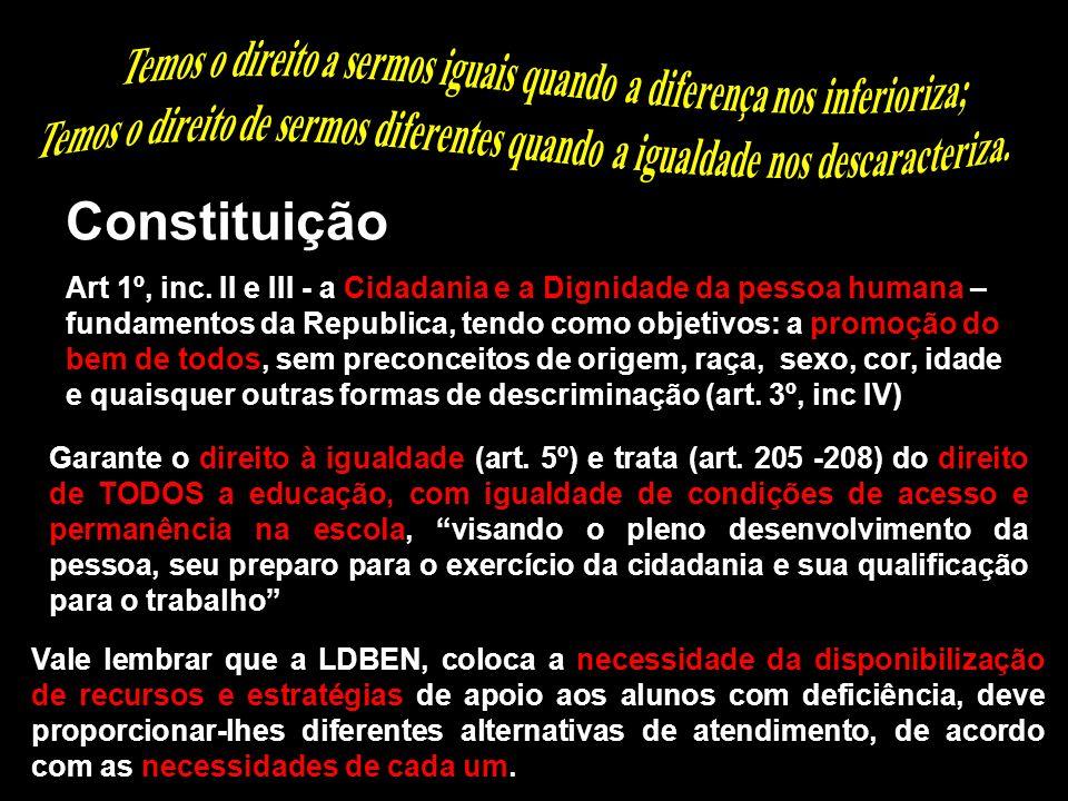 Boaventura de Souza Santos Constituição Art 1º, inc. II e III - a Cidadania e a Dignidade da pessoa humana – fundamentos da Republica, tendo como obje