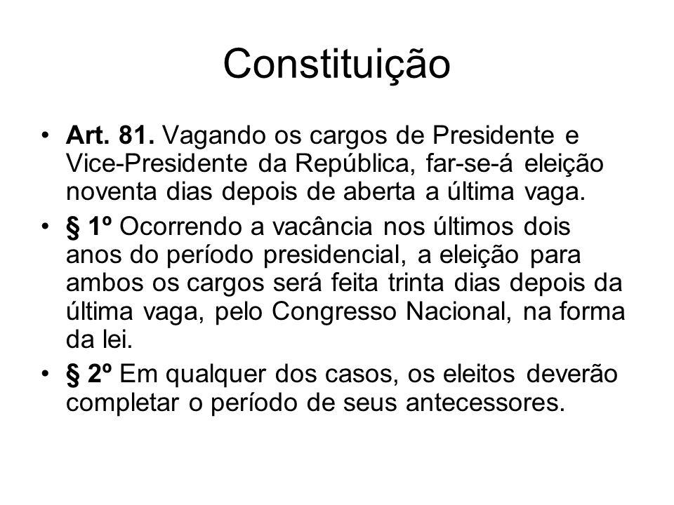 Constituição Art.81.