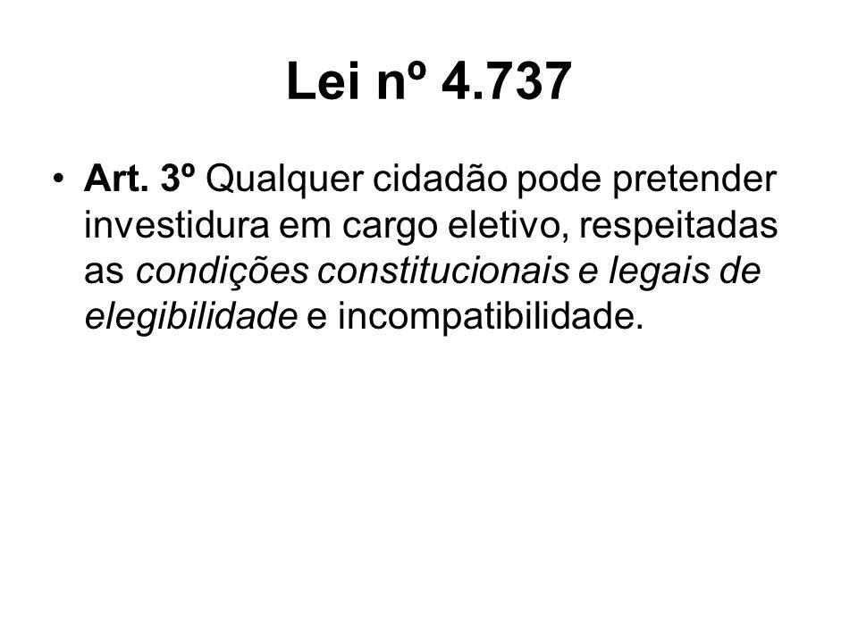 Lei nº 4.737 Art.