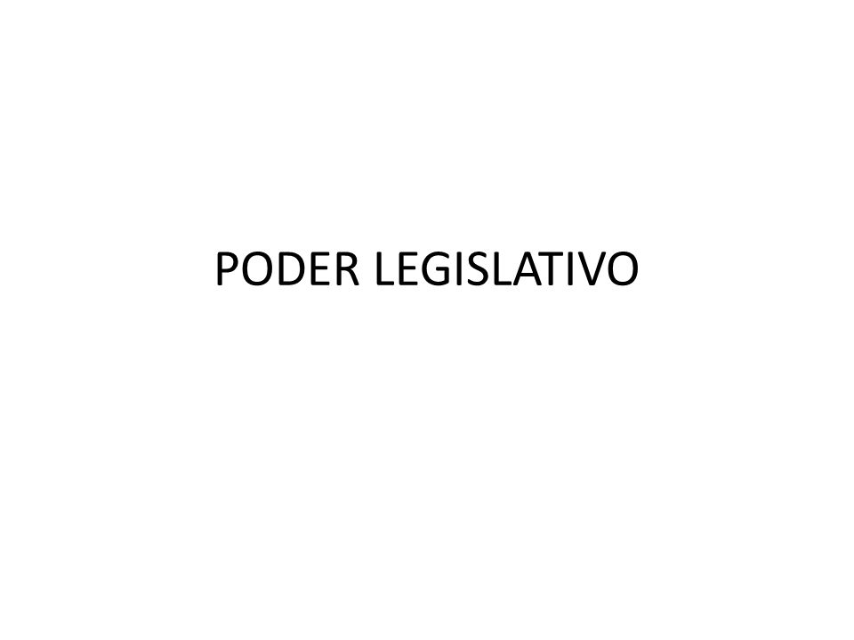 FUNÇÕES DO PODER LEGISLATIVO A Constituição consagrou em seu art.