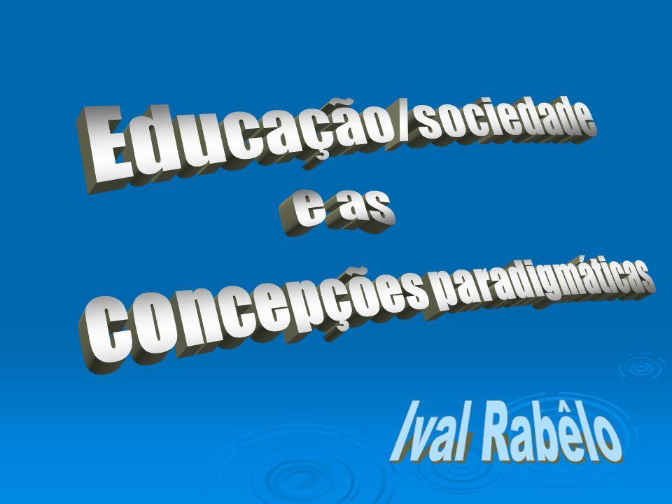 O foco da educação Na educação o foco, além de ensinar, é ajudar a integrar ensino e vida, conhecimento e ética, reflexão e ação, a ter uma visão de totalidade.
