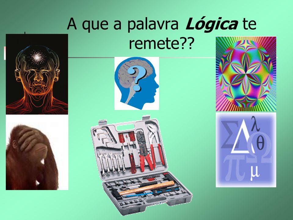A que a palavra Lógica te remete??