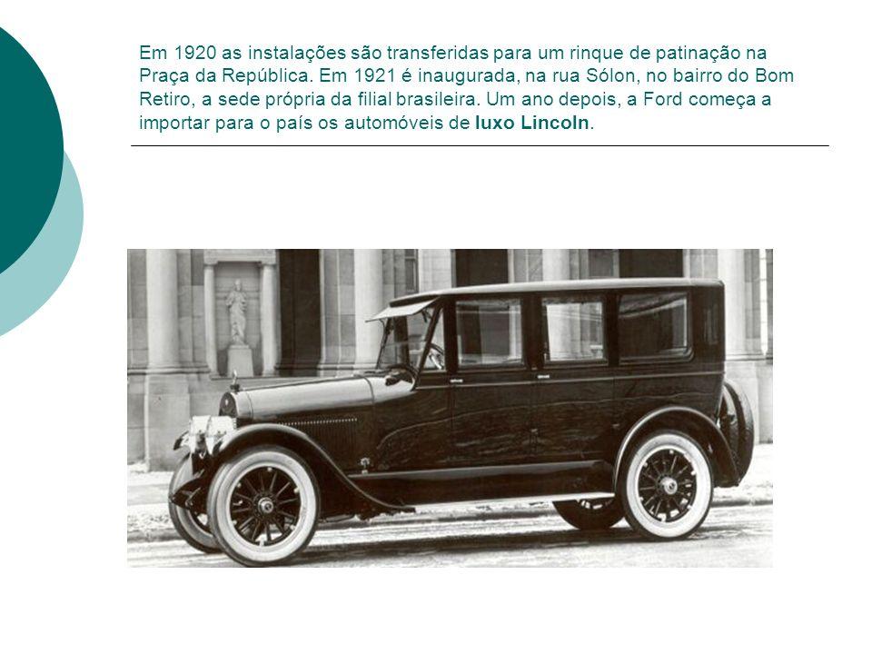 Em 1920 as instalações são transferidas para um rinque de patinação na Praça da República. Em 1921 é inaugurada, na rua Sólon, no bairro do Bom Retiro