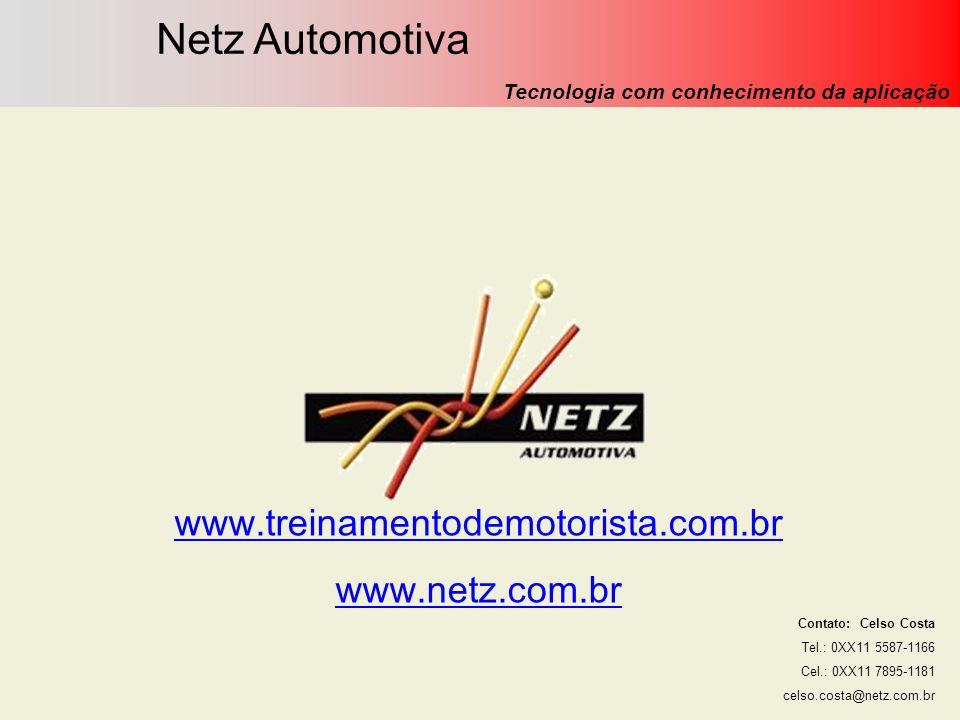 Netz Engenharia Automotiva Ltda. (Novembro/09) Netz Automotiva Tecnologia com conhecimento da aplicação Contato: Celso Costa Tel.: 0XX11 5587-1166 Cel