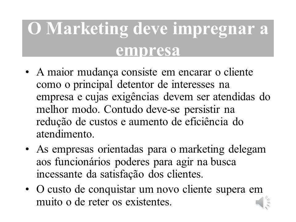 Segmentação do Mercado Razões para segmentar o mercado: Habilidade de adaptar o produto ou serviço ao cliente mais adequado.