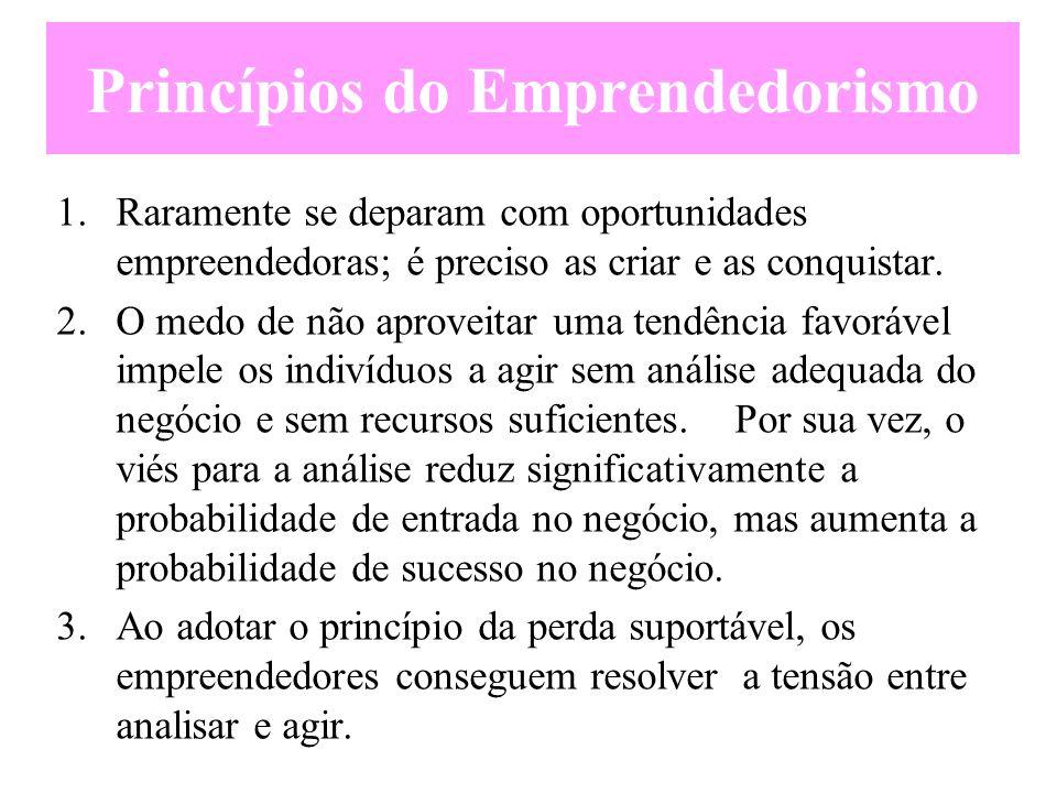 Empreendedorismo Empreendedorismo é a criação de novos negócios bem-sucedidos. Os indivíduos que criam novos negócios para explorar ineficiências ou p