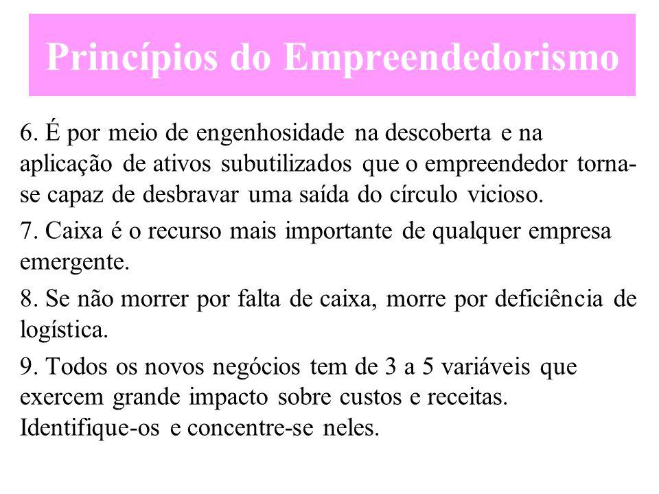 Princípios do Emprendedorismo 4.