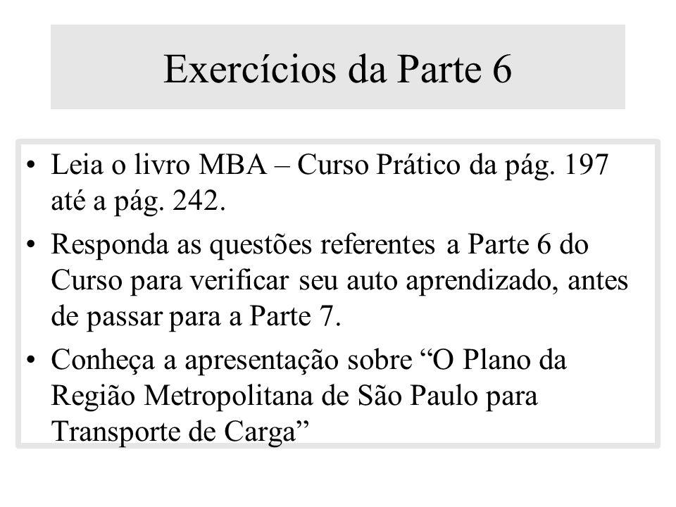4.Auditoria da posição – sustentabilidade da posição (baseado nas informações 1, 2 e 3) 5.Geração de opções – exame criativo de novos clientes (identi
