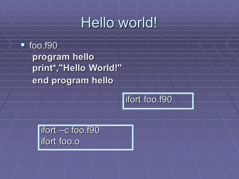 Makefile para Hello world.