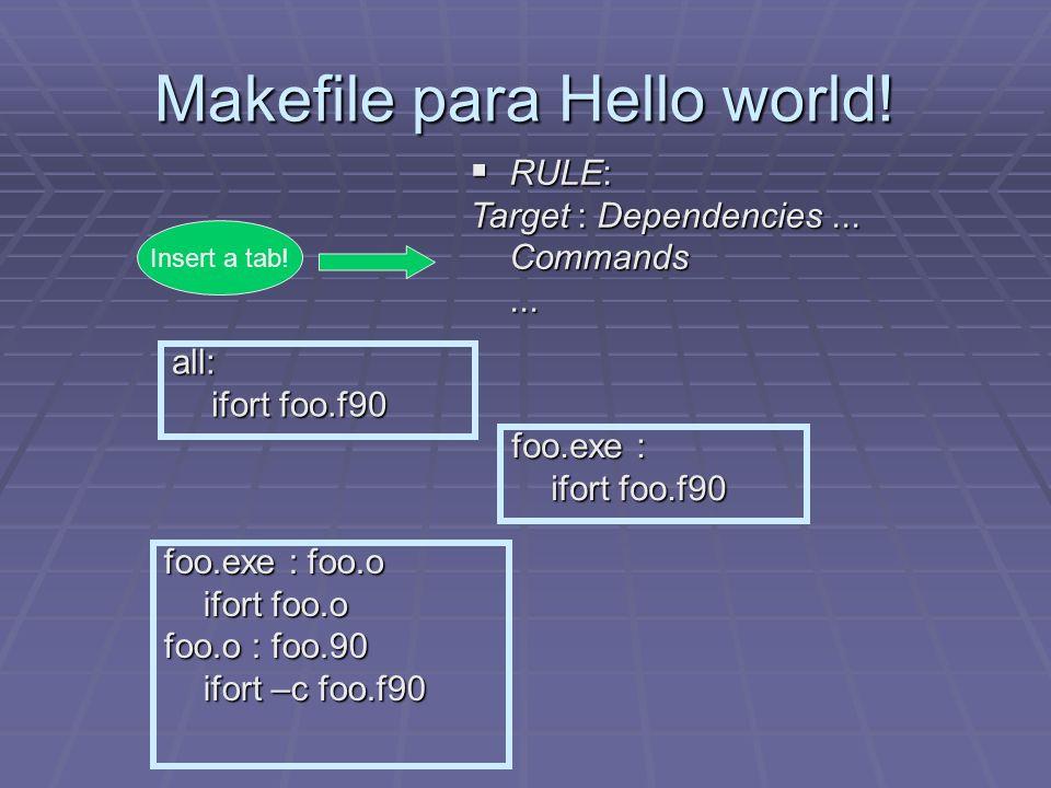 Hello world !.