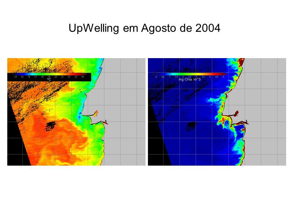 Análise dados Seawifs na Costa do Estoril Distribuição mensal da frequência de medidas do sensor Seawifs para o período compreendido entre 29 Setembro de 1997 e 21 Dezembro de 2004