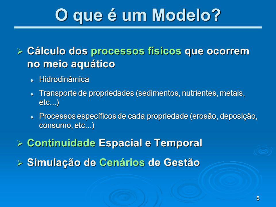 6 http://www.mohid.com Ondas Tipo de Sedimentos Vel.