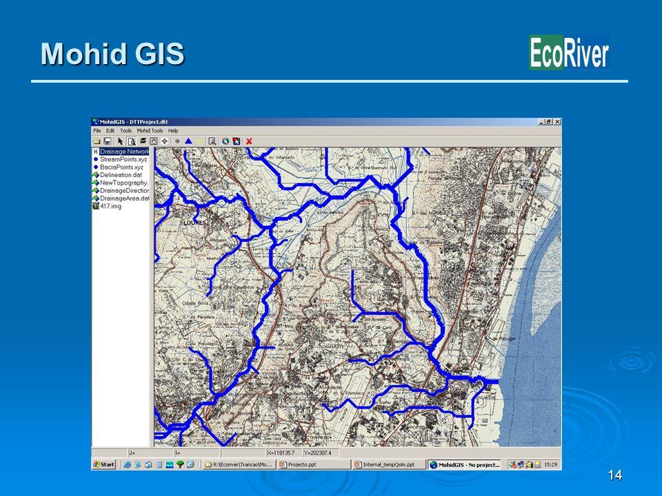 14 Mohid GIS