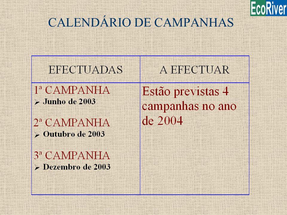 CALENDÁRIO DE CAMPANHAS