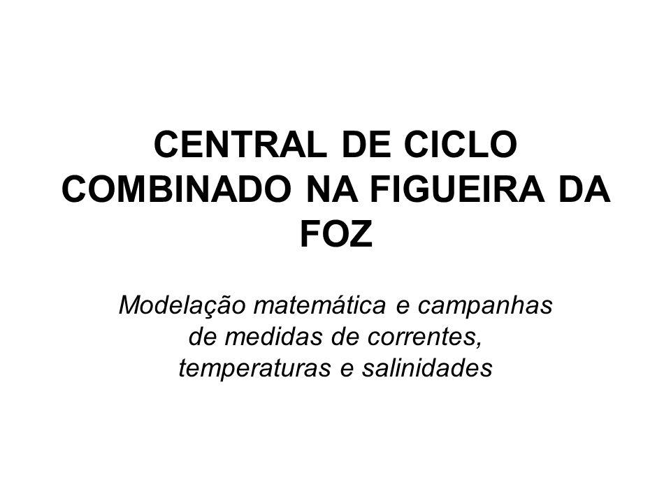 CENTRAL DE CICLO COMBINADO NA FIGUEIRA DA FOZ Modelação matemática e campanhas de medidas de correntes, temperaturas e salinidades