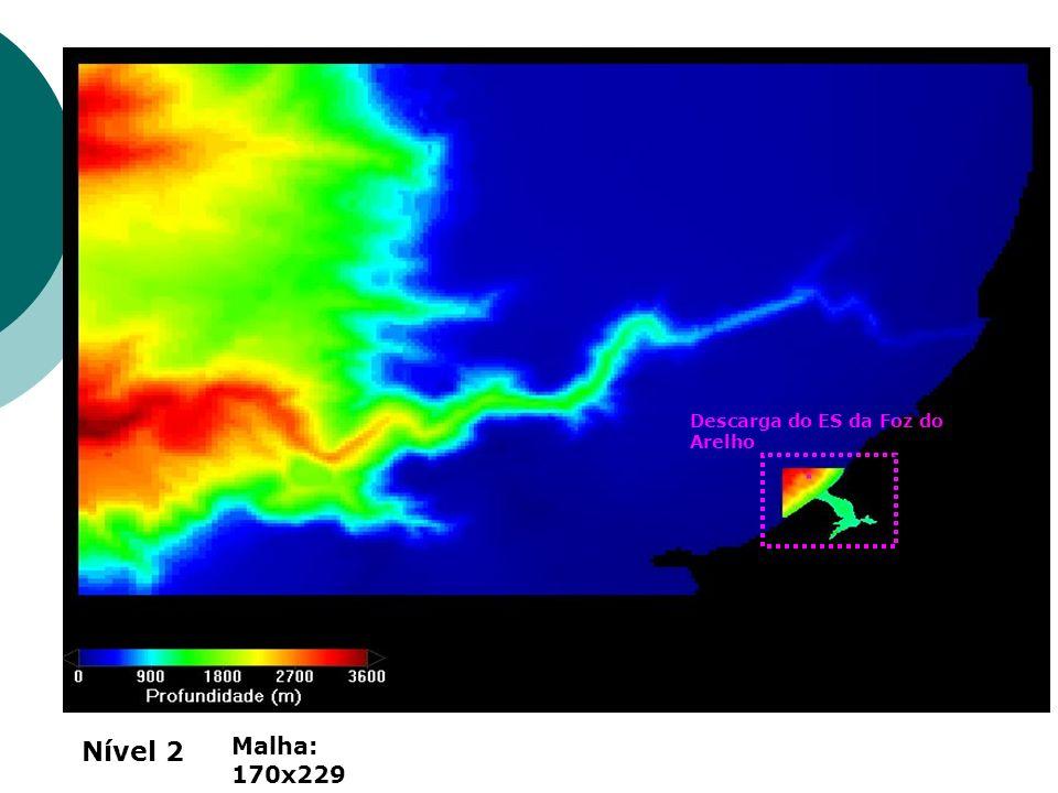 Descarga do ES da Foz do Arelho Nível 2 Malha: 170x229