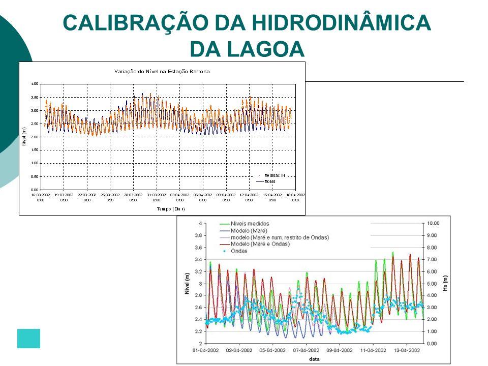 CALIBRAÇÃO DA HIDRODINÂMICA DA LAGOA