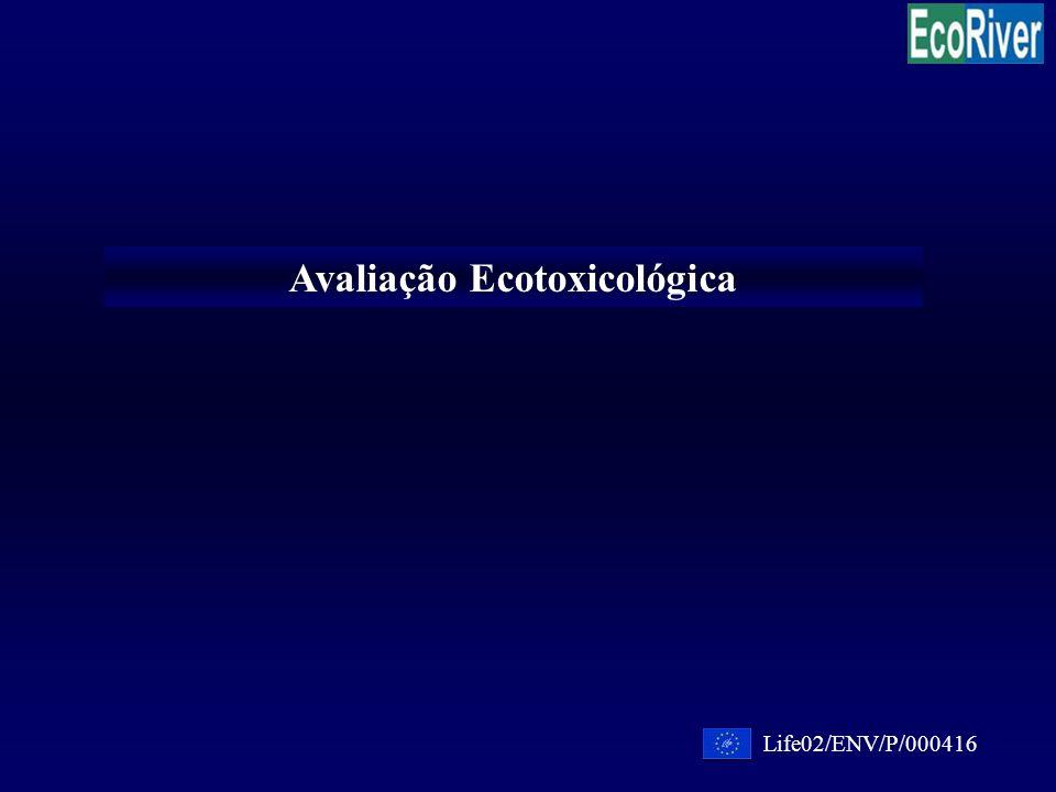 Avaliação Ecotoxicológica Life02/ENV/P/000416