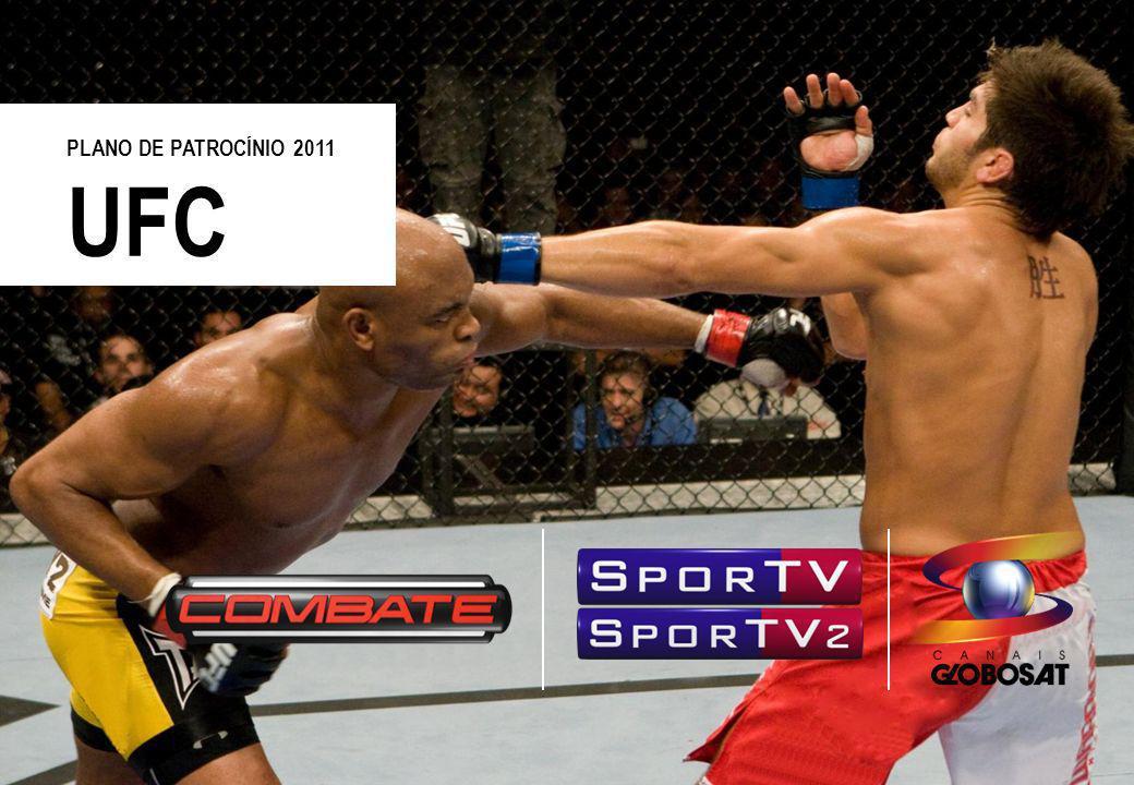 20/4/2014 Uma das mais bem sucedidas marcas esportivas do mundo, avaliada em mais de US$ 1 bilhão, o UFC produz doze eventos por ano, distribuídos por televisão a cabo e satélite dos EUA, além de 130 países.