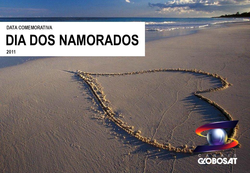 DESCRITIVO DO PROJETO A Globosat oferece oportunidade comercial para a data que tem um significado especial, o Dia das Namorados.