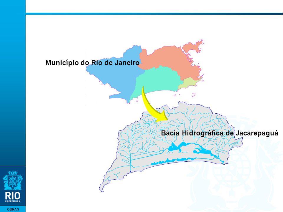 OBRAS Município do Rio de Janeiro Bacia Hidrográfica de Jacarepaguá