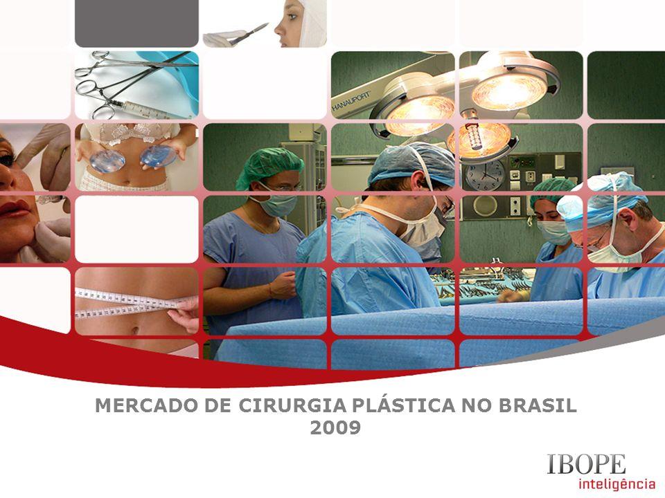 MERCADO DE CIRURGIA PLÁSTICA NO BRASIL 2009