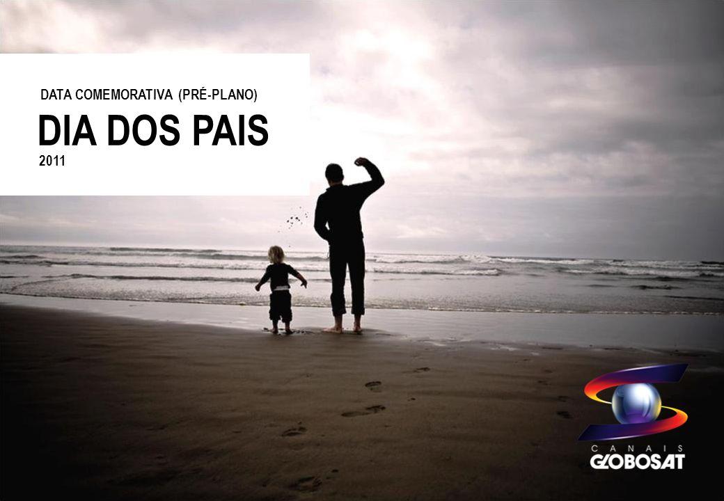 20/4/2014 DESCRITIVO DO PROJETO A Globosat oferece oportunidade comercial para a data que tem um significado especial, o Dia dos Pais.