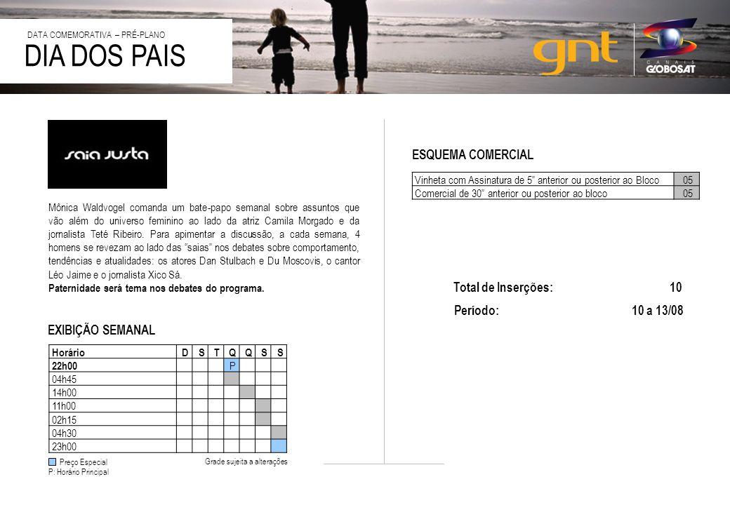 20/4/2014 DIA DOS PAIS DATA COMEMORATIVA – PRÉ-PLANO Layout meramente ilustrativo Formatos de Patrocínio na página especial : Super Banner e Retângulo.