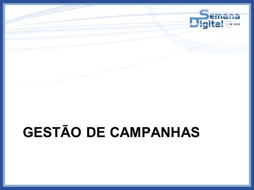 GESTÃO DE CAMPANHAS