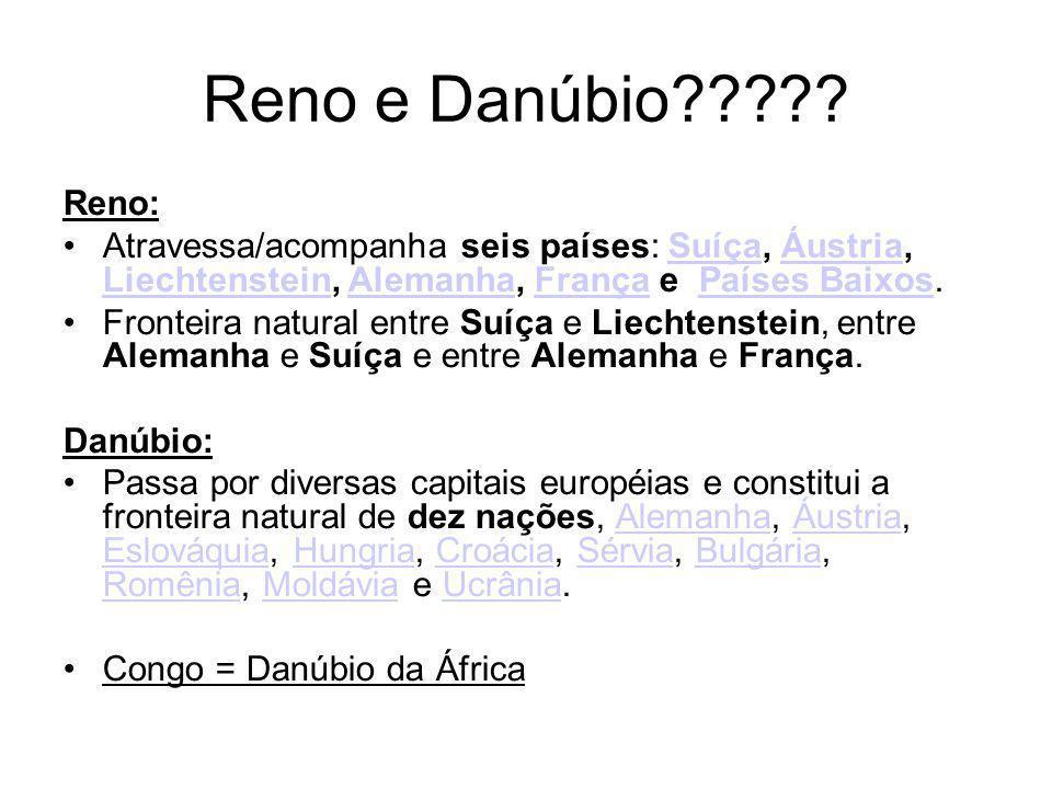 Reno e Danúbio????.