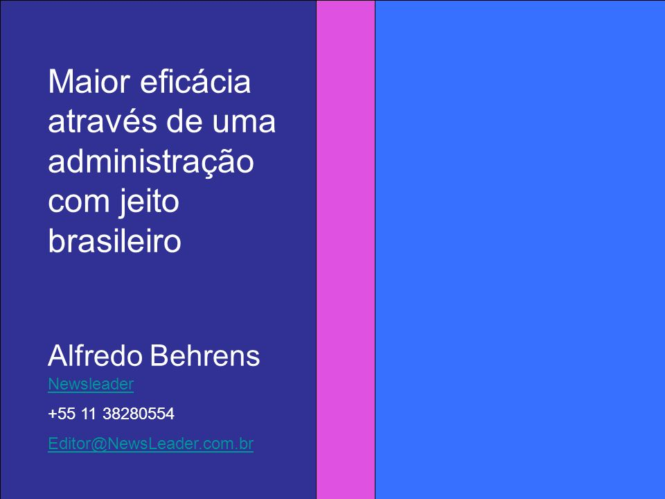 Conteúdo Esta mensagem é mais relevante para empresas com mais de 100 funcionários, e mais ainda para as que tem administradores estrangeiros ou que engajam brasileiros em comunicações com o exterior.