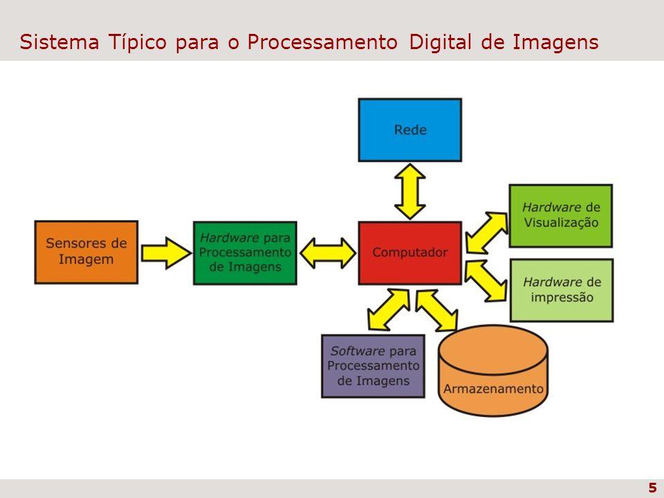 5 Sistema Típico para o Processamento Digital de Imagens