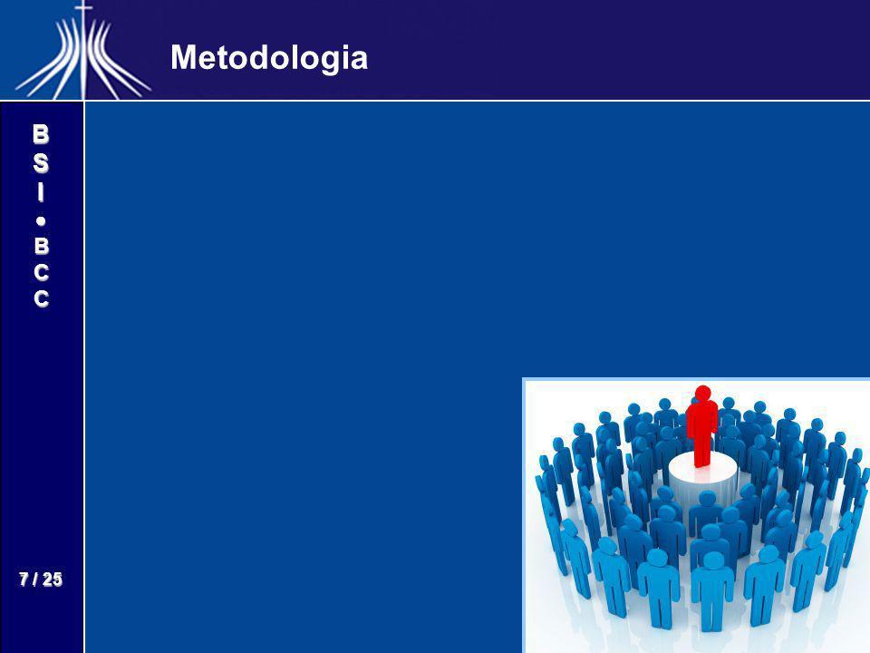 BSIBCC 8 / 25 Definições Grid Shared Desktop - GSD Grid Shared Desktop - GSD – –Permite o compartilhamento de desktops; – –Capacidade de interligar vários usuários de forma interativa; AGORA AGORA – –A Plataforma implementa o conceito GSD; – –Adaptada ao projeto EngageGrid; – –Desenvolvida pelo Laboratório de Informática, Robótica e Microeletrônica de Montpellier – LIRMM (Montpellier,França); EngageGrid EngageGrid – –Conceber e prototipar uma Rede de Compromissos como um arcabouço teórico e um ambiente computacional de suporte a profissionais do conhecimento.