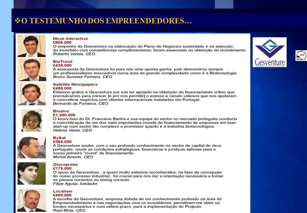 Faça clique para O TESTEMUNHO DOS EMPREENDEDORES…